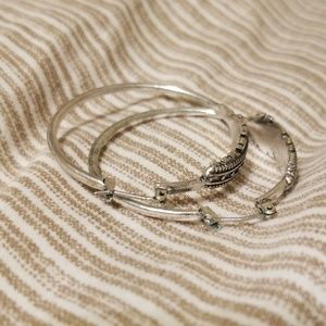 Lucky Brand Jewelry - Lucky brand feather hoops